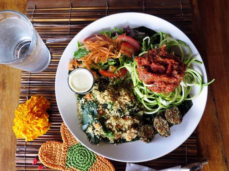 Zoodles Raw Food Bali